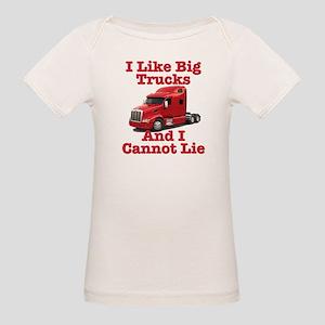 I Like Big Trucks Peterbilt Organic Baby T-Shirt
