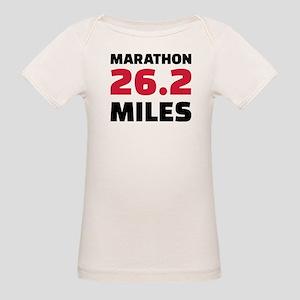 Marathon 26 miles Organic Baby T-Shirt