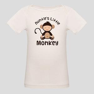Auntie Monkey Organic Baby T-Shirt