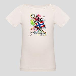 Flower Norway Organic Baby T-Shirt