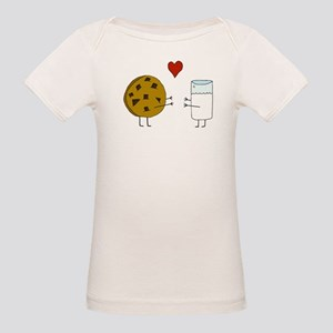 Cookie Loves Milk Organic Baby T-Shirt