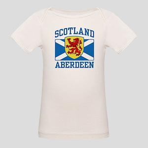 Aberdeen Scotland Organic Baby T-Shirt