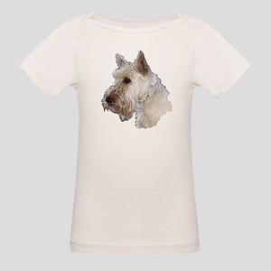 Scottish Terrier (Wheaten) Organic Baby T-Shirt