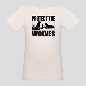 PROTECT THE WOLVES Organic Baby T-Shirt