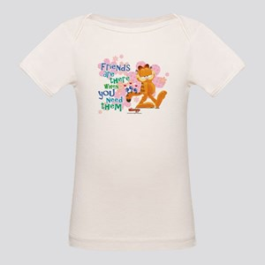 Friends Are There Organic Baby T-Shirt