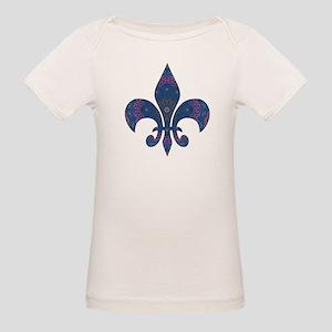 Alchemy Fleur De Lys Organic Baby T-Shirt