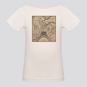 Vintage Map of New Orleans Louisiana (1798 T-Shirt