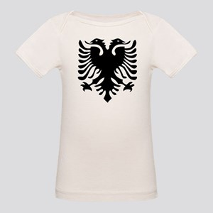 Albanian Eagle Organic Baby T-Shirt