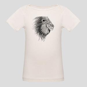 Lion (Black and White) T-Shirt