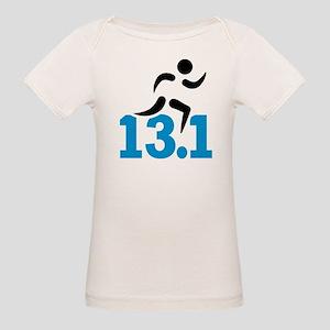 Half marathon 13.1 miles Organic Baby T-Shirt