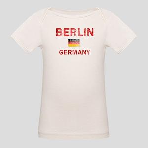 Berlin Germany Designs Organic Baby T-Shirt