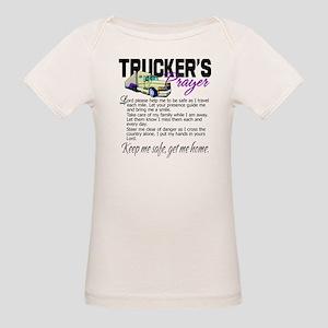 Trucker's Prayer Organic Baby T-Shirt