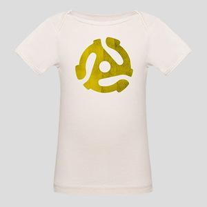 45 RPM Adaptor Organic Baby T-Shirt