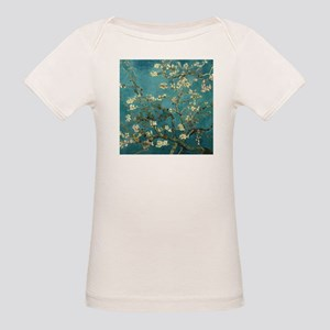 Van Gogh Almond Branches In Bloom Organic Baby T-S