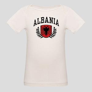 Albania Organic Baby T-Shirt