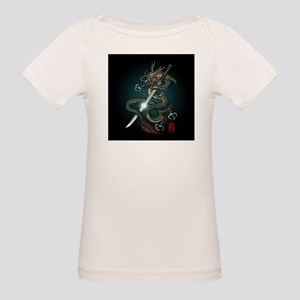 Dragon Katana01 Organic Baby T-Shirt