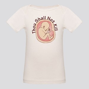 Thou Shall Not Kill Organic Baby T-Shirt