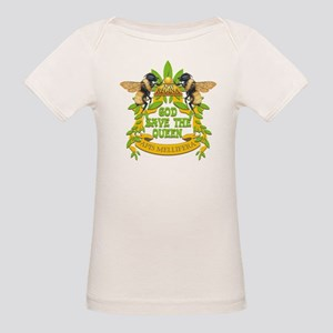 God Save the Queen Organic Baby T-Shirt