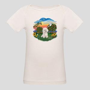 BrightCountry-Bichon#1 Organic Baby T-Shirt