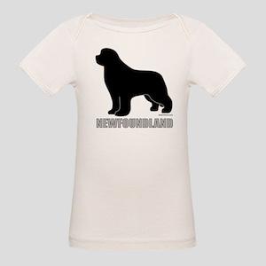Newfoundland Silhouette Organic Baby T-Shirt