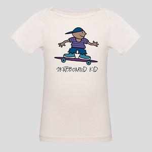 Skateboard Kid Organic Baby T-Shirt