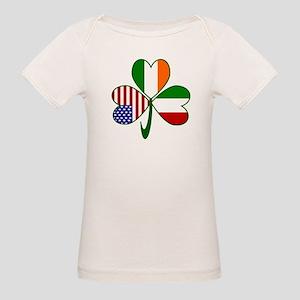 Shamrock of Italy Organic Baby T-Shirt