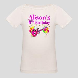 HAPPY 8TH Organic Baby T-Shirt