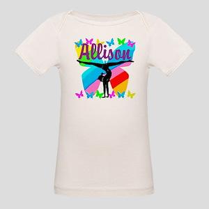 PERSONALIZE GYMNAST Organic Baby T-Shirt