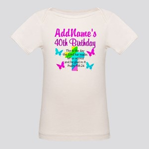 LOVING GOD 40TH Organic Baby T-Shirt