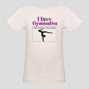 GYMNAST LOVE Organic Baby T-Shirt
