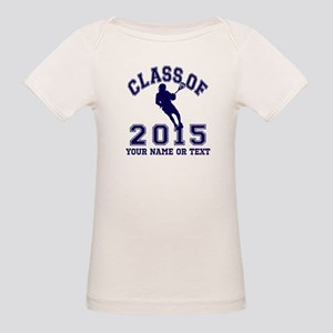 Class of 2015 Lacrosse Organic Baby T-Shirt