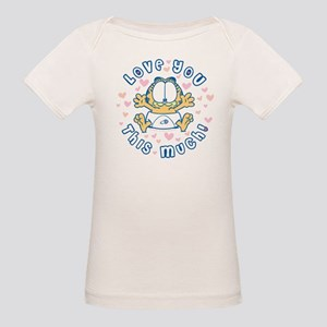 Love You This Much Organic Baby T-Shirt