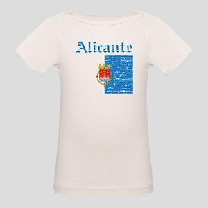 Alicante flag designs Organic Baby T-Shirt
