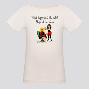 What Happens At The Salon Organic Baby T-Shirt