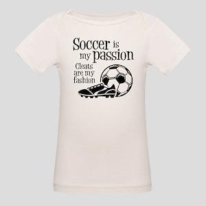 CLEATS Organic Baby T-Shirt