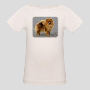 Pomeranian 9R042D-22 Organic Baby T-Shirt