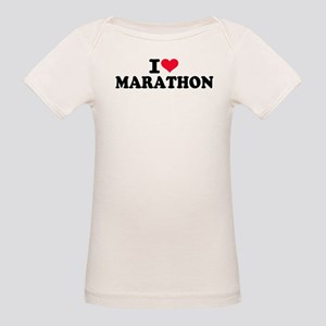 I love Marathon Organic Baby T-Shirt