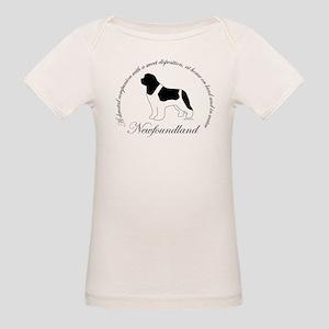 Devoted Landseer Newf Organic Baby T-Shirt