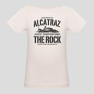 PROPERTY OF ALCATRAZ Organic Baby T-Shirt