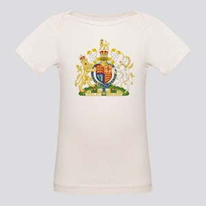 United Kingdom Coat Of Arms Organic Baby T-Shirt