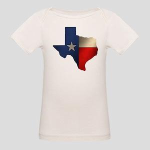 State of Texas Organic Baby T-Shirt