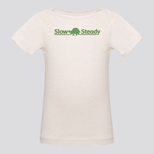 Slow and Steady Organic Baby T-Shirt