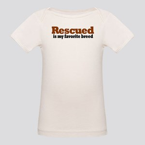 Rescued Breed Organic Baby T-Shirt