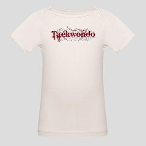 Taekwondo Red Organic Baby T-Shirt