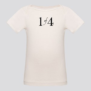 1 of 4 (First Born) Organic Baby T-Shirt