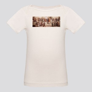 School of Athens Organic Baby T-Shirt
