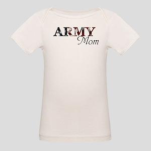 Army Mom (Flag) Organic Baby T-Shirt