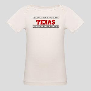 'Girl From Texas' Organic Baby T-Shirt