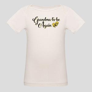 Grandma to Bee Organic Baby T-Shirt