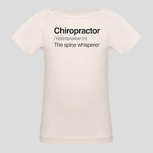 Chiropractor The Spine Whispe Organic Baby T-Shirt